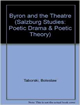 Byron and the Theatre (Salzburg Studies: Poetic Drama and Poetic Theory)(Salzburg Studies: Poetic Drama & Poetic Theory)